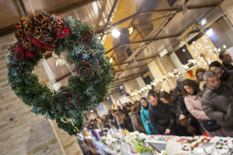 Rimini, rimini, mercatino natale