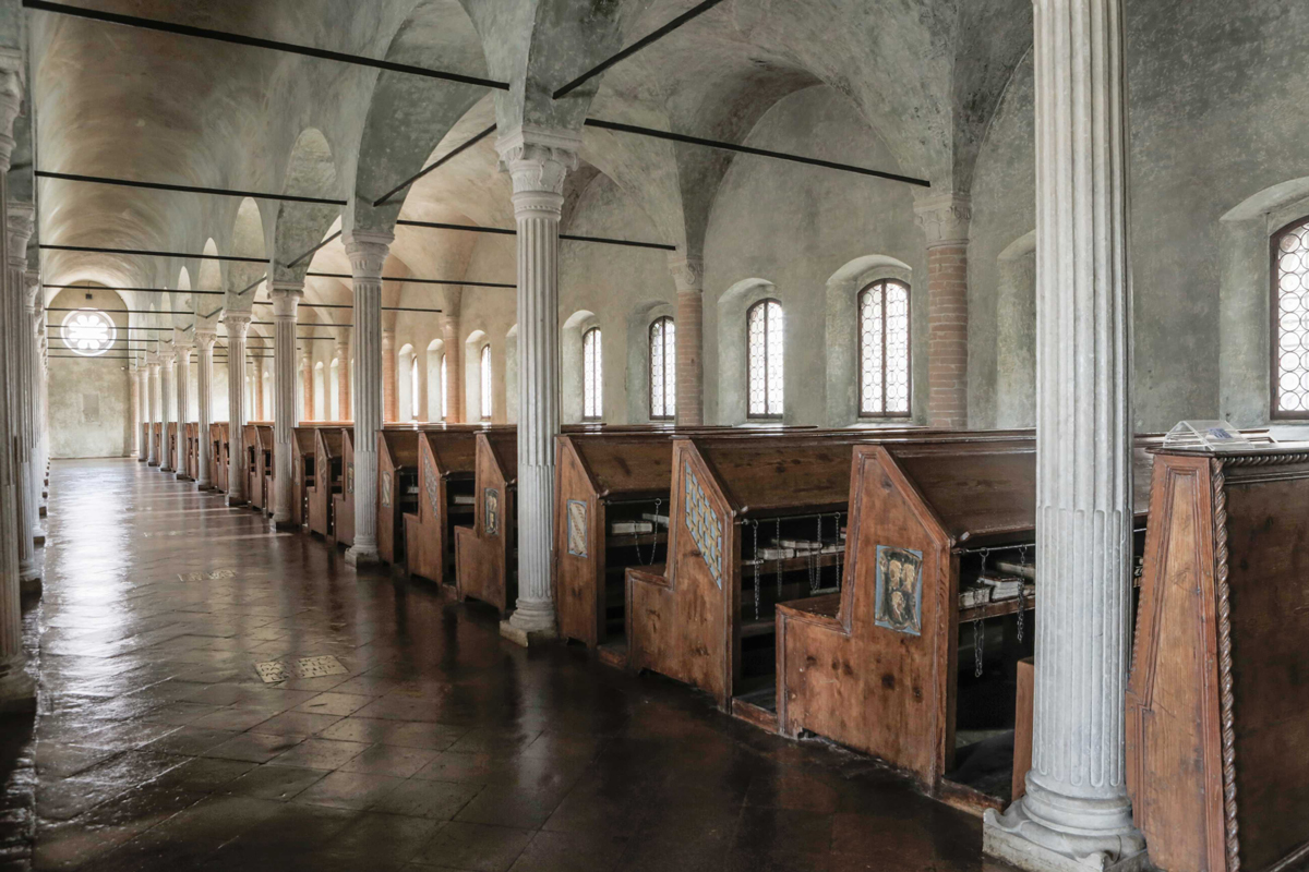 Biblioteca Malatestiana Cesena (Sala del Nuti) | Foto di Marco Boschetti