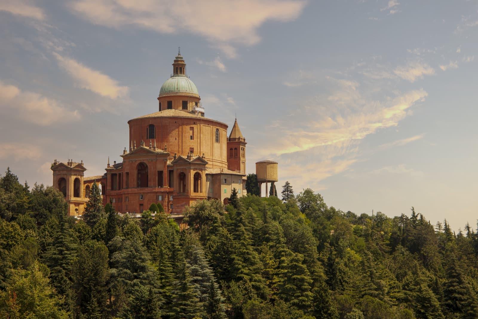 Sanctuary of the Madonna di San Luca, Bologna, Emilia Romagna   Ph. Daniel Clarke