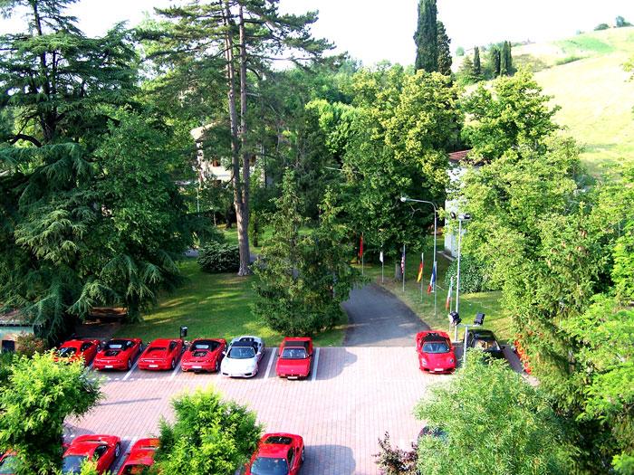 Sassuolo (MO), Terme della Salvarola, auto d'epoca, ph. termesalvarola.it