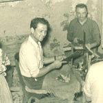 Scaracciatori Luglio 1954   Ph. Uit Museo del Sughero