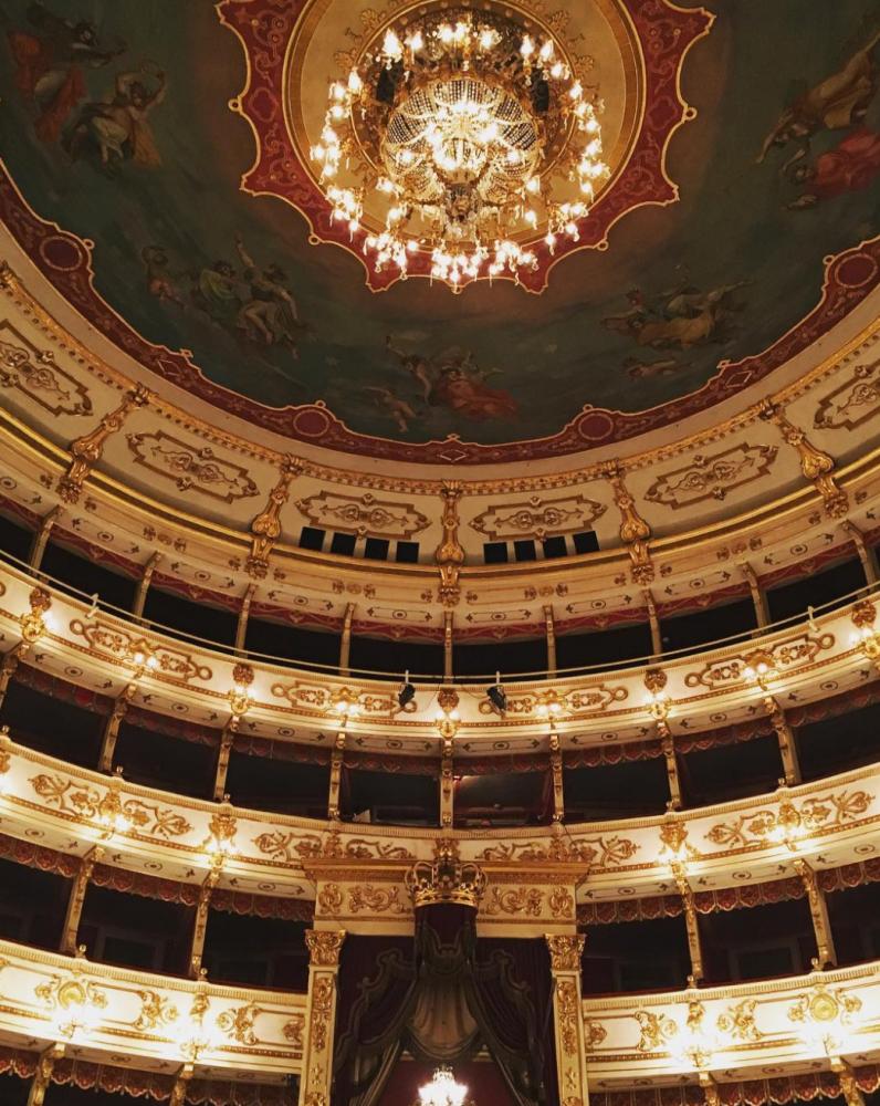 Il Teatro Regio di Parma, sede della presentazione Guida Michelin 2017