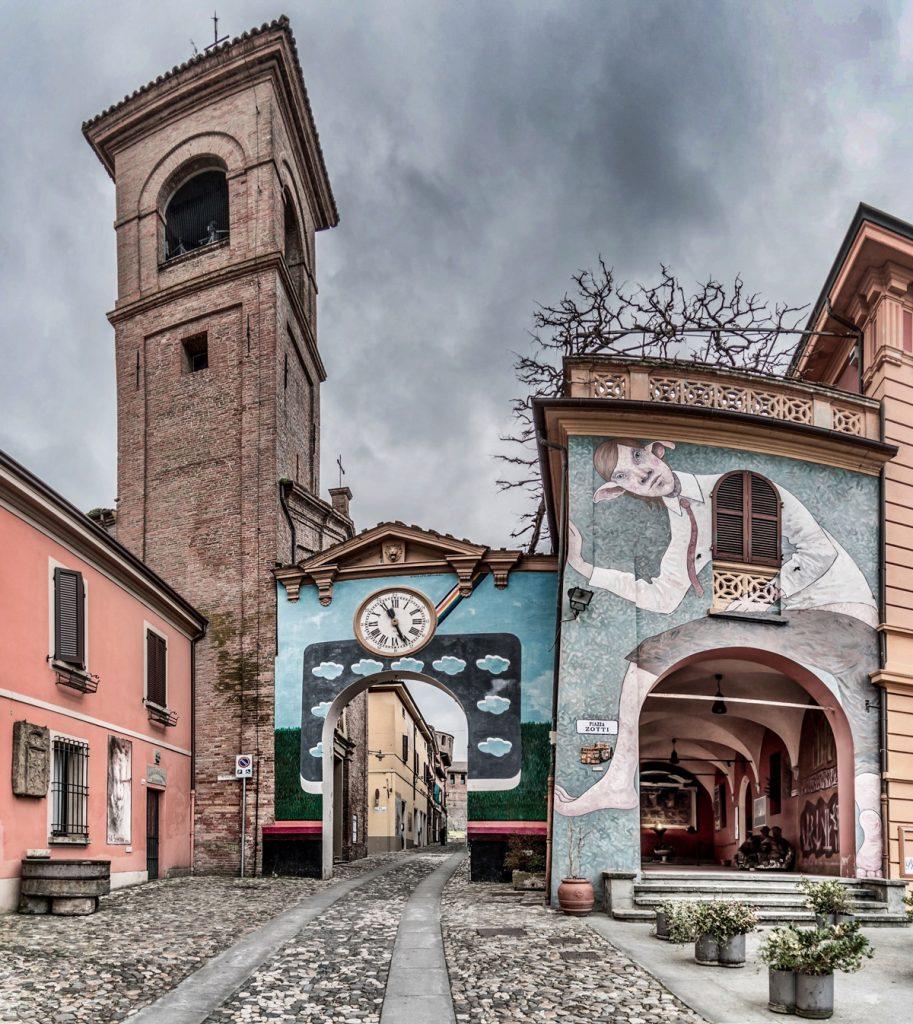 Biennale del Muro Dipinto | Dozza | Photo by Vanni Lazzari