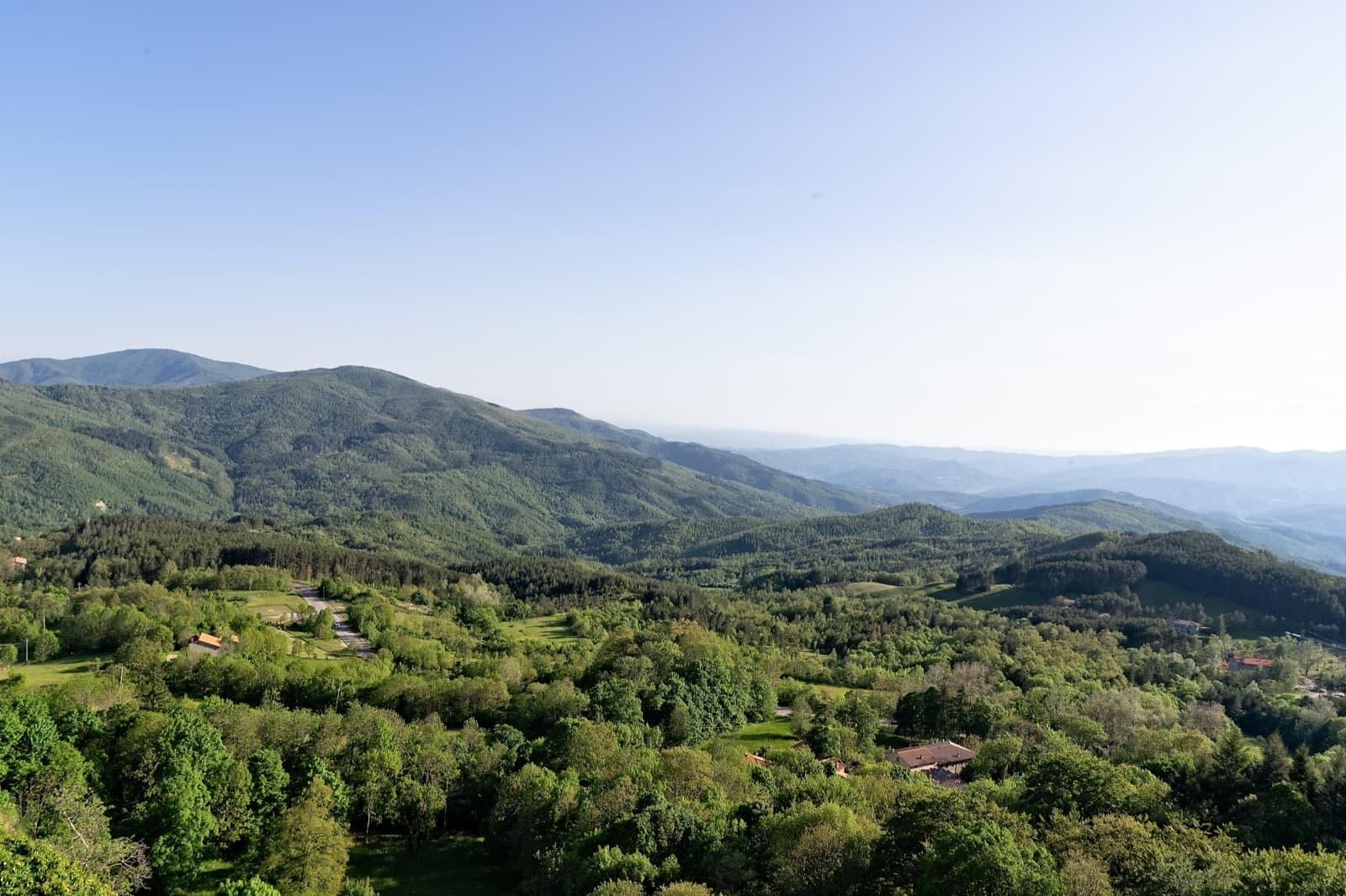 View from La Verna Sanctuary | Ph. Simon Falvo