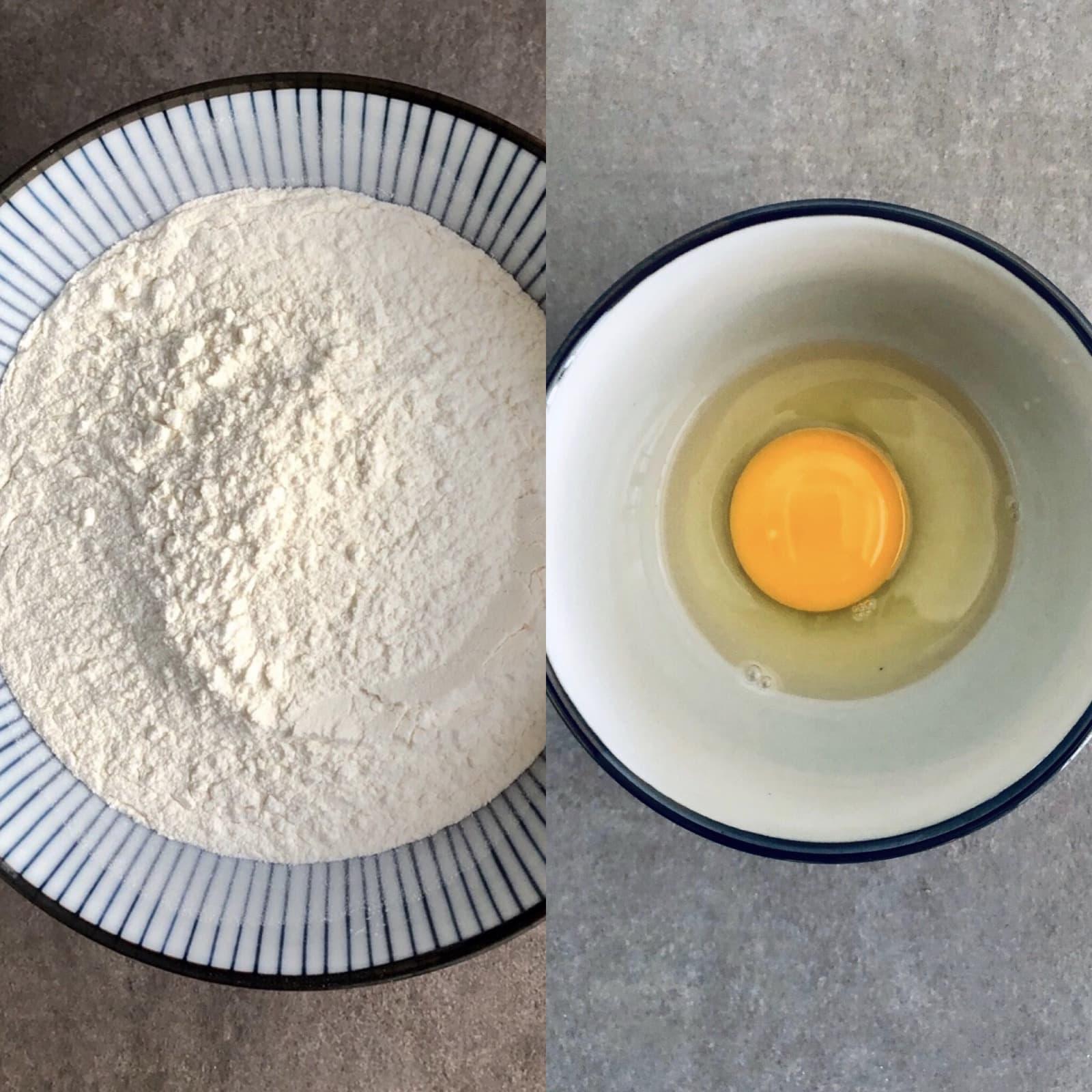 Tagliatelle Ingredients Handmade Ph. FedeCortezzi