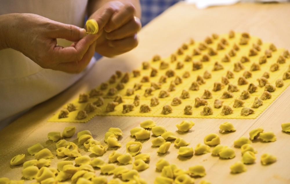 Tortellini fatti a mano