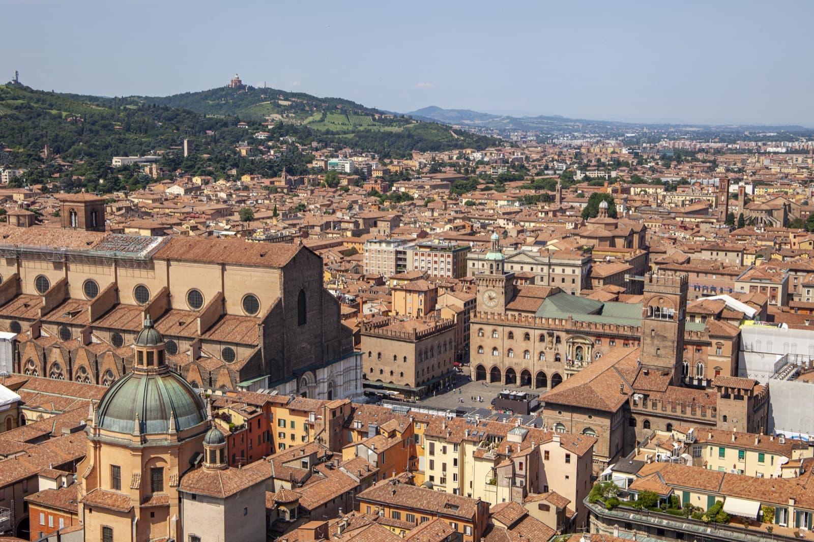 Twin Towers View, Bologna, Emilia Romagna   Ph. Daniel Clarke