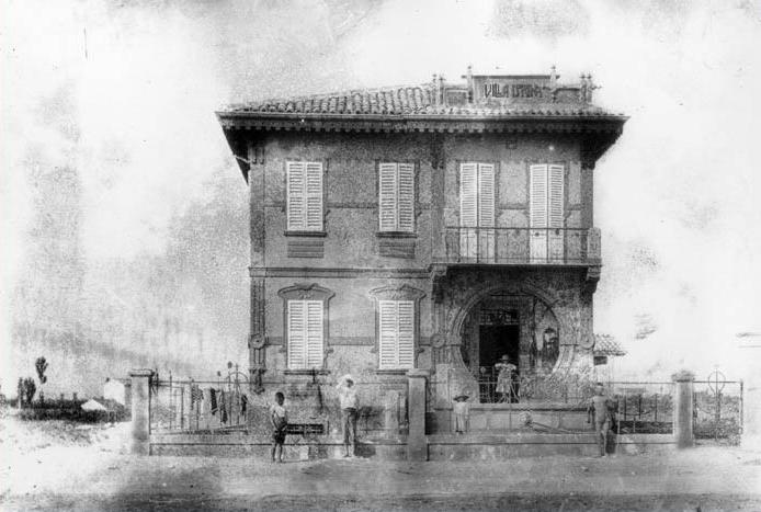 Rimini, Viserba – Villa Adelia – Ph. www.romagnaliberty.it