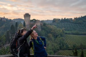 In the footsteps of Dante. By train, between Emilia-Romagna and Tuscany
