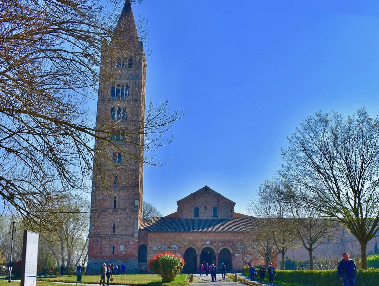 The abbey of Pomposa (Ferrara)