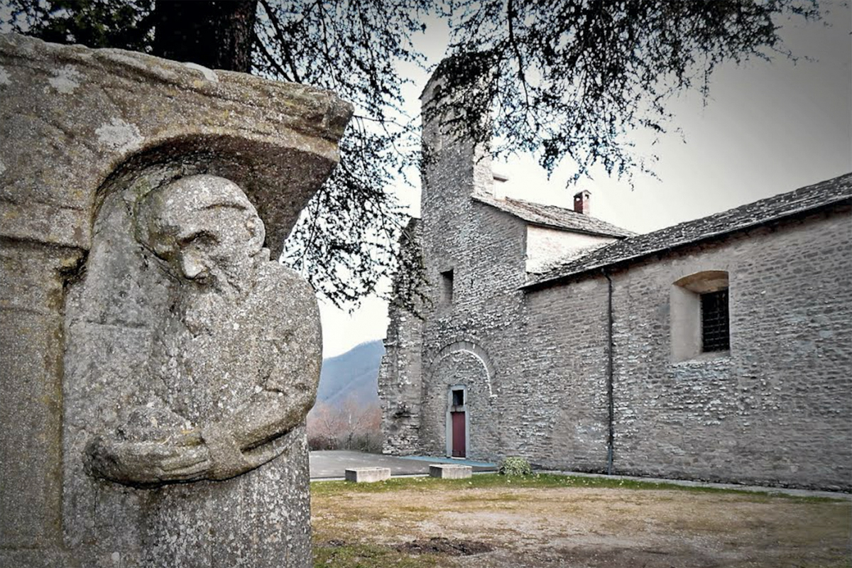 The abbey of San Benedetto in Alpe (FC)