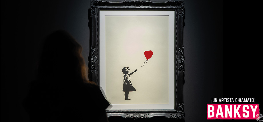 """There is Always Hope"" Banksy, Palazzo dei Diamanti Ferrara"