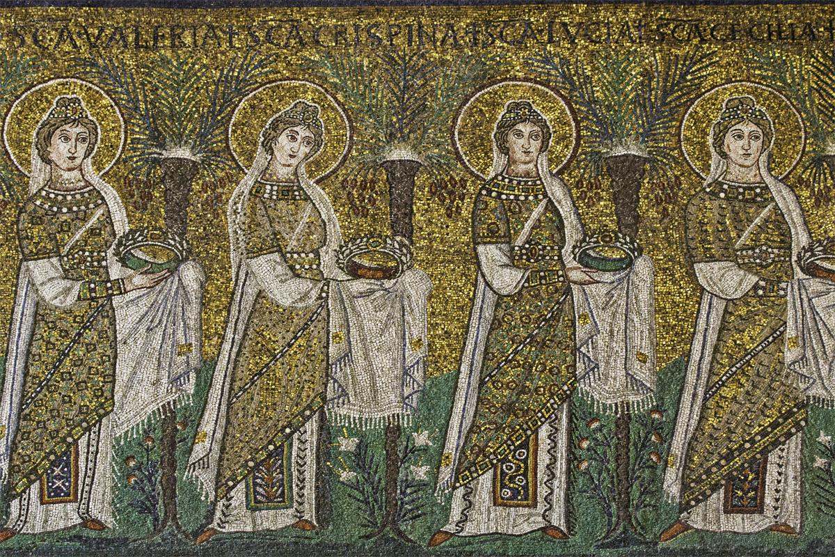 Basilica di Sant'Apollinare Nuovo (Ravenna) - Corteo Vergini
