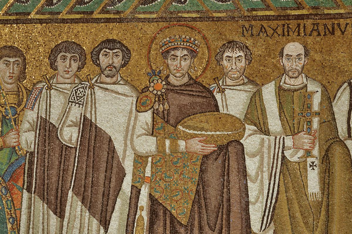 Basilica di San Vitale (Ravenna) - Imperatore Giustiano