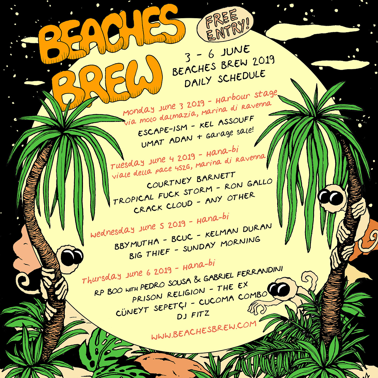 Beaches Brew Festival | 2019 Programme