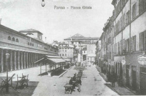 The history of Ghiaia Square in Parma