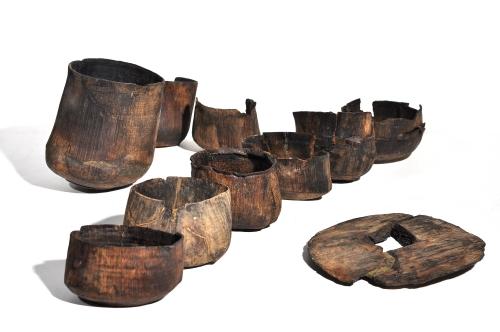Bologna – MEDIOEVO SVELATO. Storie dell'Emilia-Romagna attraverso l'archeologia Bicchieri in legno (X sec. – Parma)
