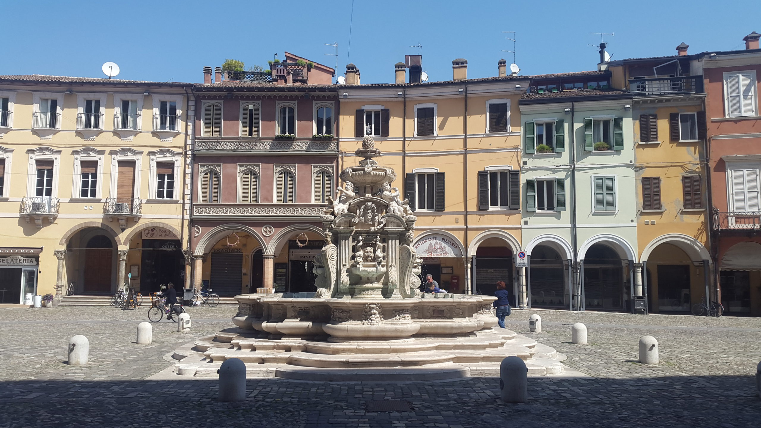 Cesena, Fontana Masini in Piazza del Popolo, Ph. maria_bernadette_melis