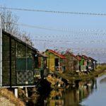 Cesenatico (FC) – Capanni da pesca sul canale Fossatone, ph. Ufficio Turismo del Comune di Cesenatico