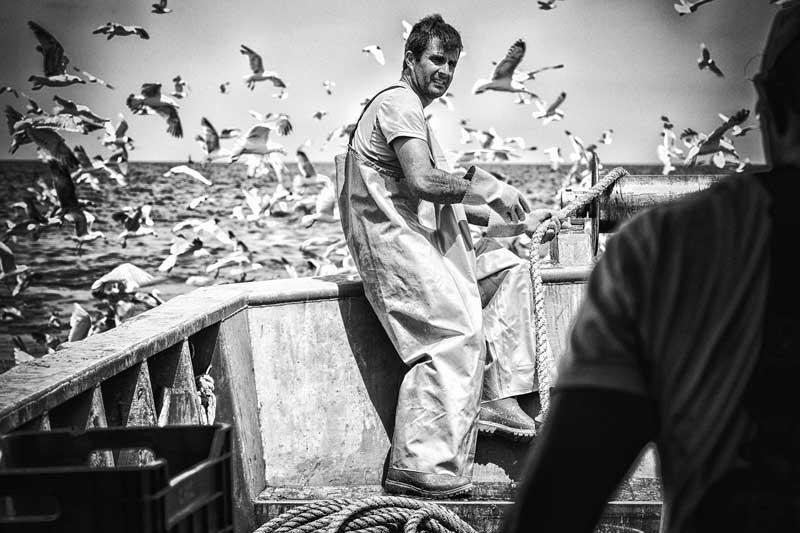 Pescatori a Cesenatico Ph. livingcesenatico.it