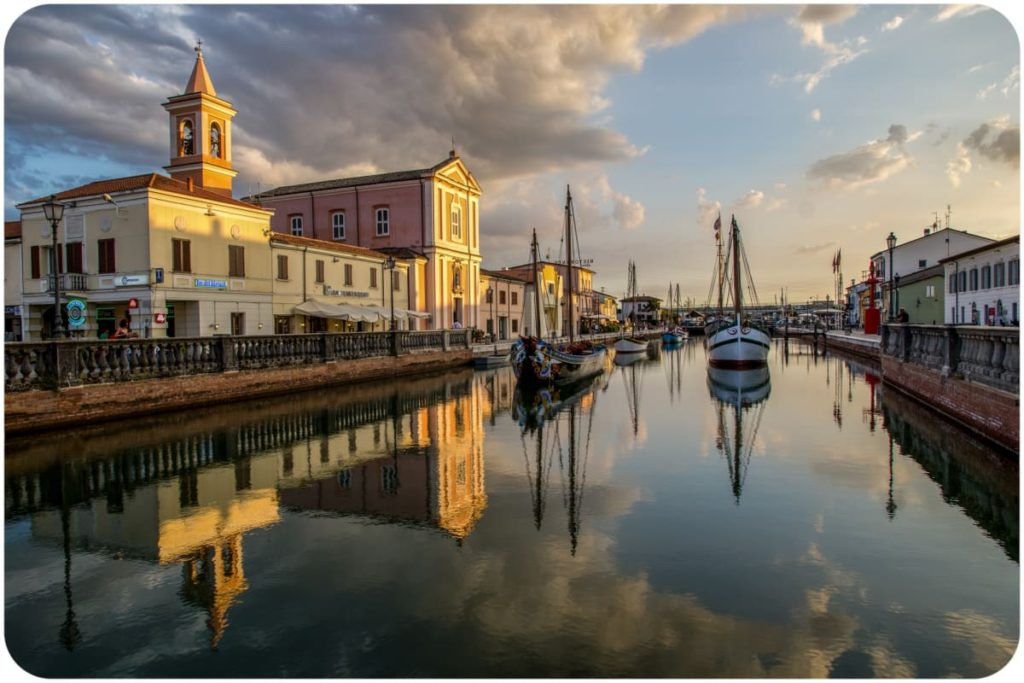 Porto canale leonardesco di Cesenatico Ph. ragazzini_simone