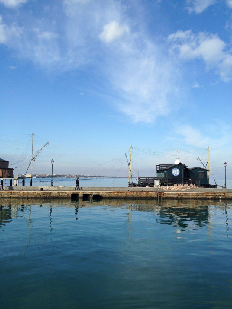 Cesenatico (FC) – Capanni da pesca sul molo, ph. Ufficio Turismo del Comune di Cesenatico