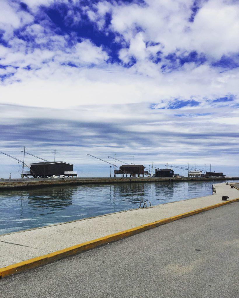 Cesenatico (FC) – Capanni da pesca, ph. Ufficio Turismo del Comune di Cesenatico