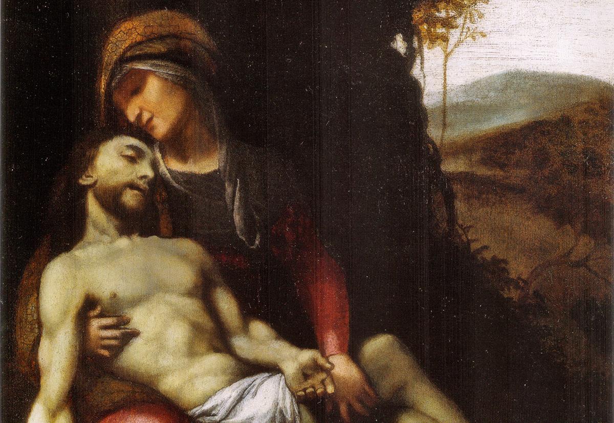 Antonio Allegri da Correggio, Pietà (Civic Museum, Correggio)