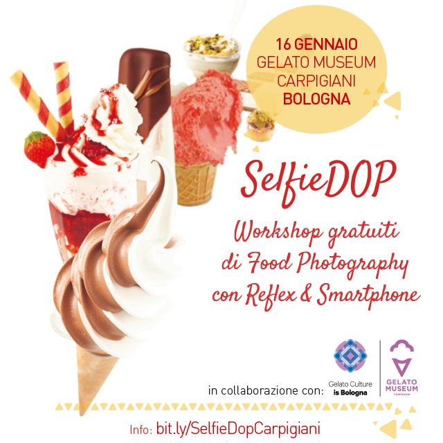 GelatoPhotography: torna SelfieDOP ospite di Carpigiani