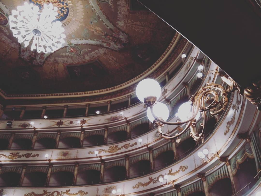 EmptyTeatroER   Il Teatro Bonci di Cesena