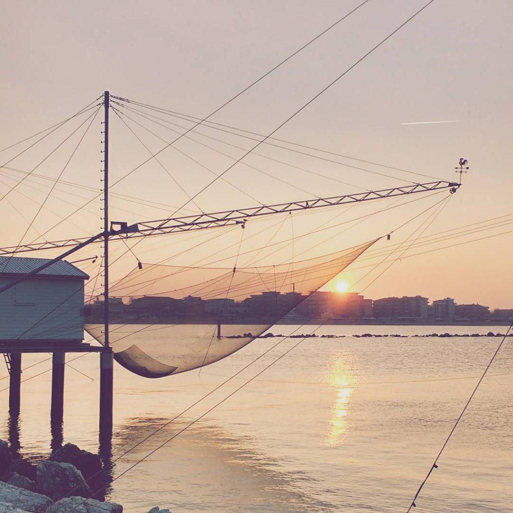 @dvdprtto What a sunset, Cesenatico