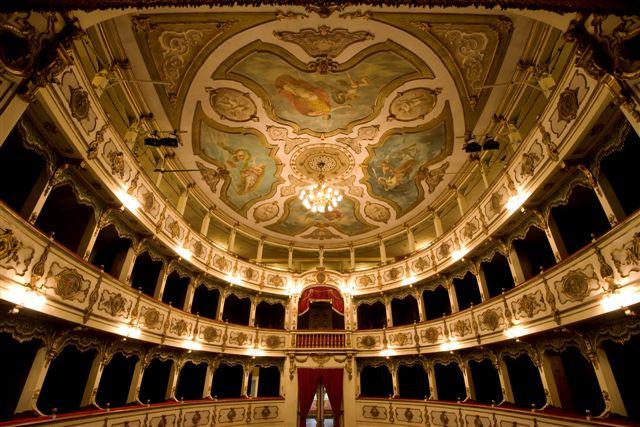 The Verdi Theatre in Busseto