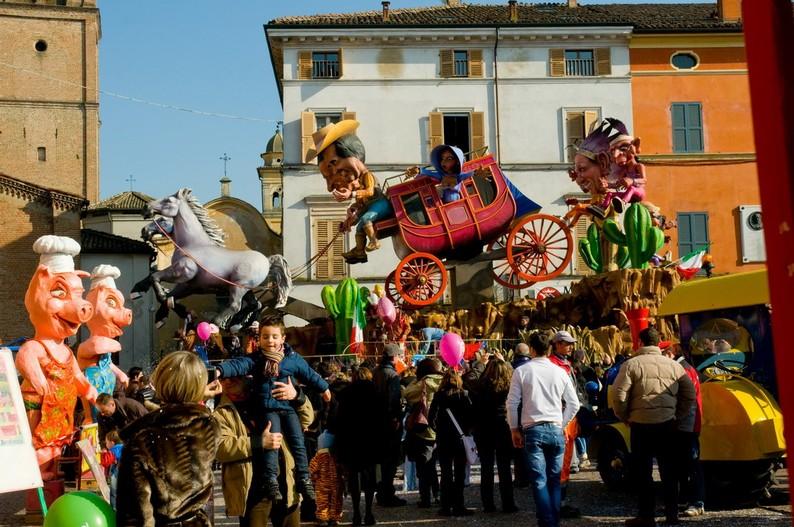 emilia romagna borghi - busseto Gran Carnevale Storico di Busseto 4