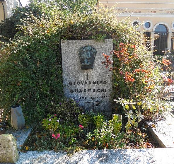 emilia romagna borghi - busseto tomba guareschi