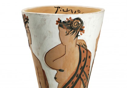 faenza-pablo-picasso,le-quattro-stagioni,ceramica-1950