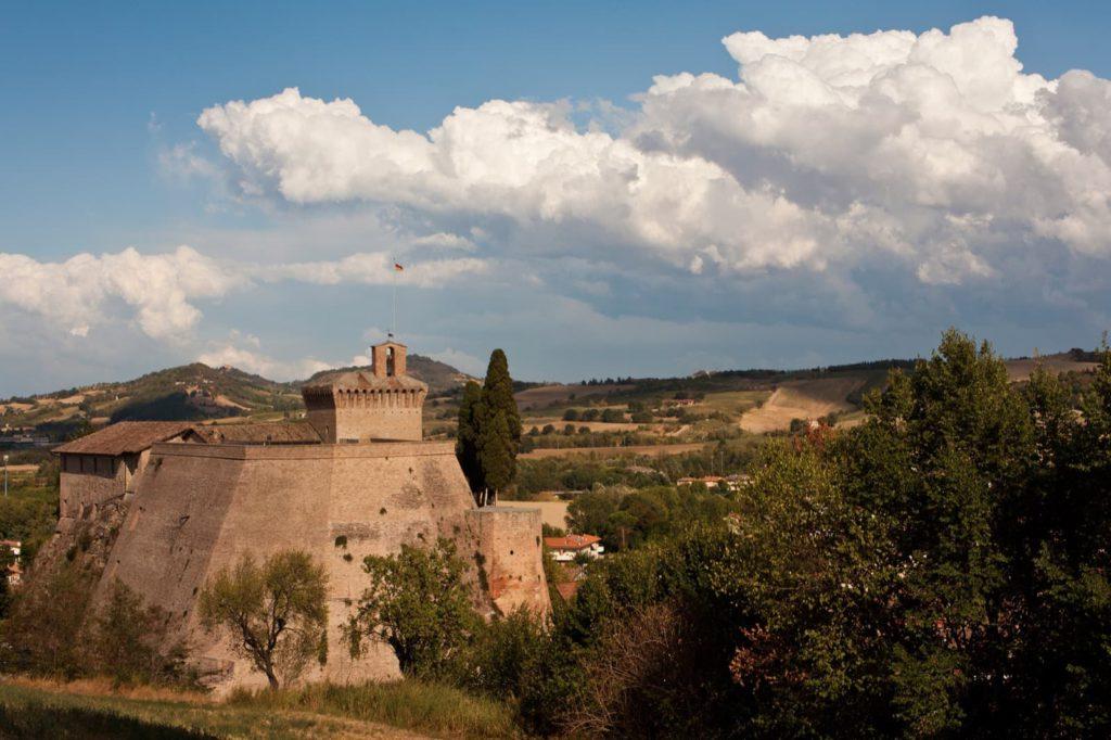 The hill-town municipalities around Forlì,Meldola Fortress | Ph. Umberto Paganini Paganelli