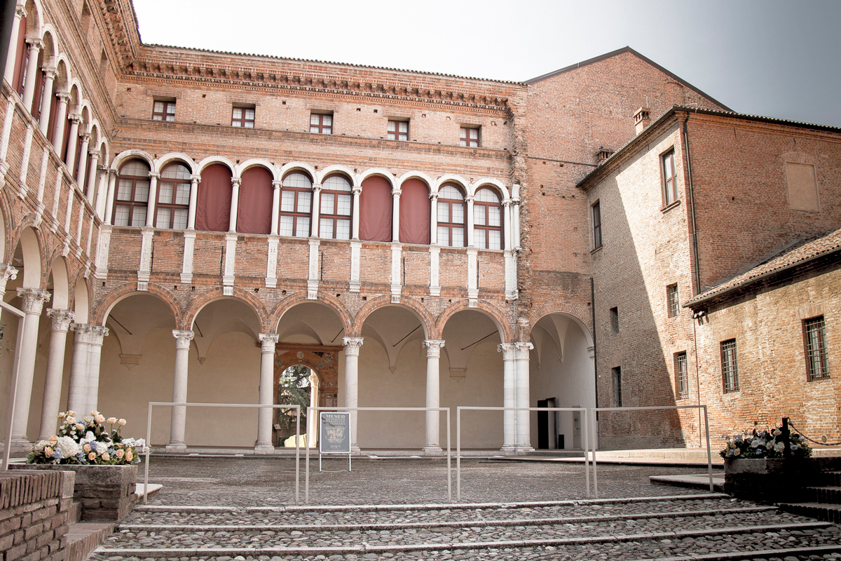 National Archaeological Museum of Ferrara (Palazzo Costabili)   Photo by Tonina Droghetti