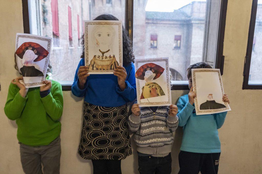 Ferrara, Castello Estense, laboratorio per bambini