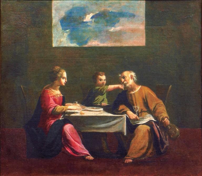 Ferrara – LA COLLEZIONE CAVALLINI SGARBI. DA NICCOLÒ DELL'ARCA A GAETANO PREVIATI. Sacra Famiglia, Carlo Bonomi