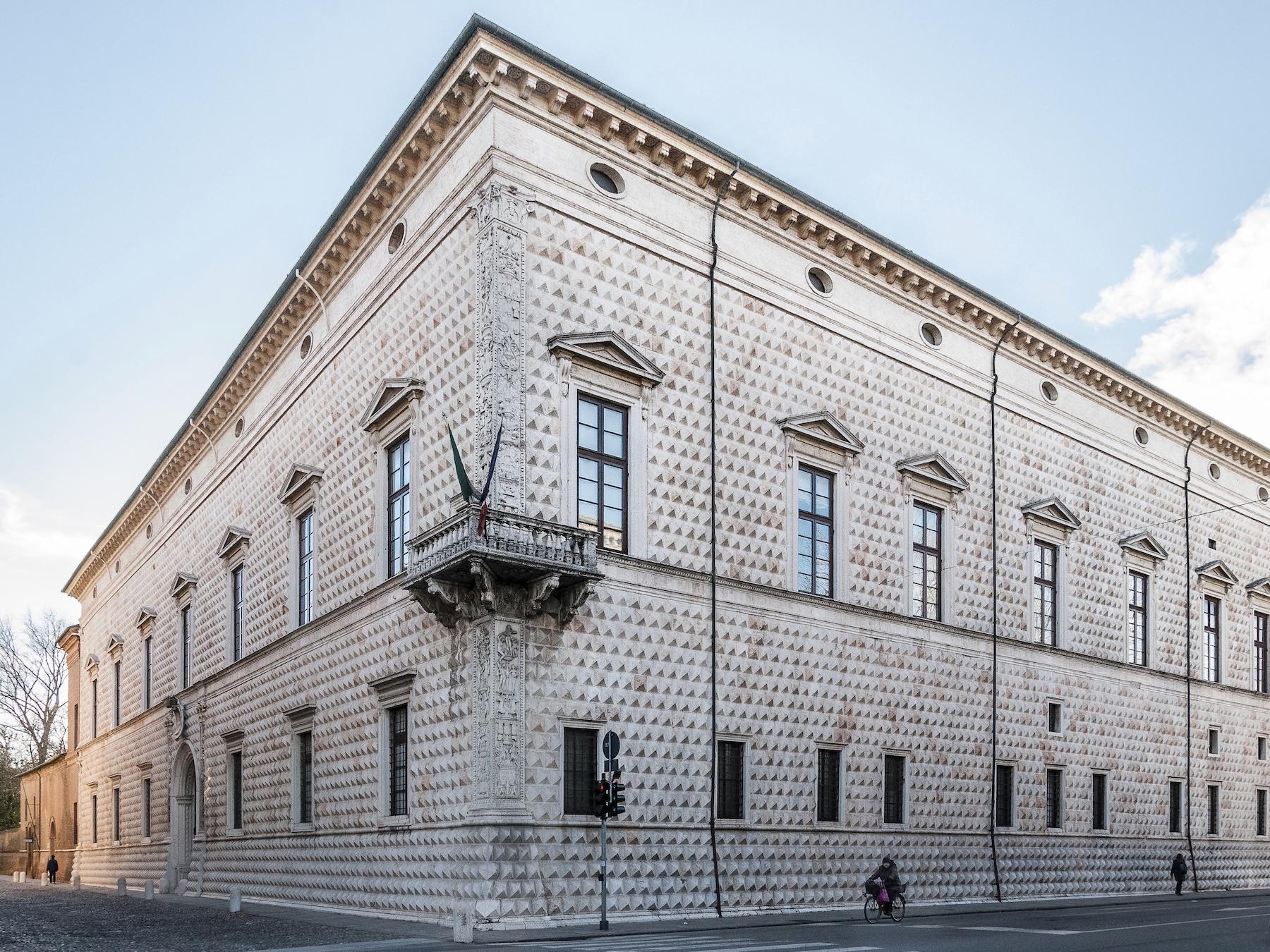 Ferrara, Palazzo dei Diamanti | Ph. Vanni Lazzari