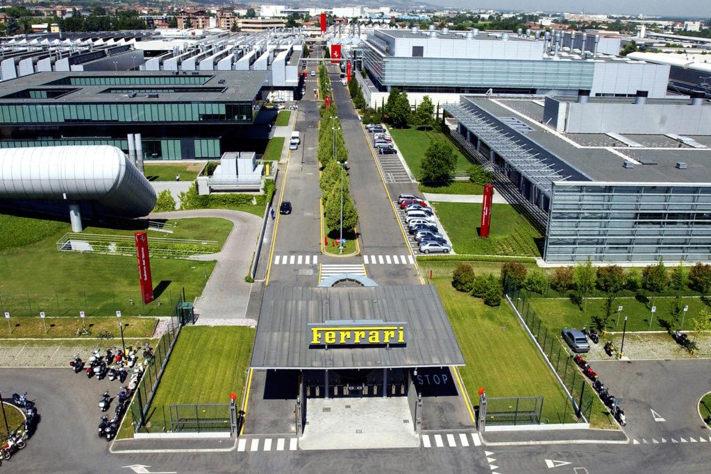 Visiting Ferrari | Photo © motorwebmuseum.it