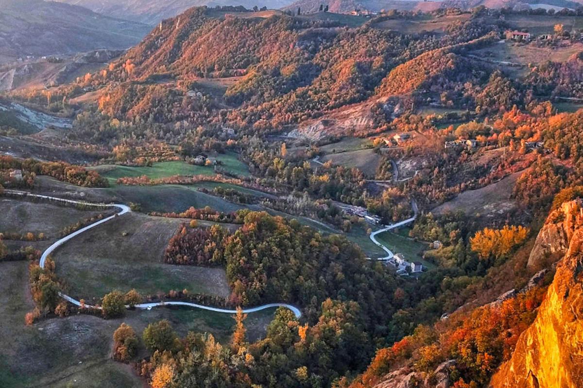 Foliage nella Terra dei Castelli (Modena)