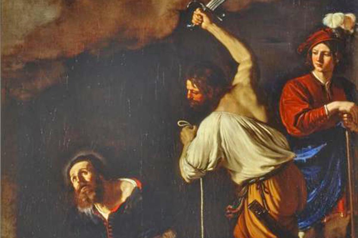 Giovan Francesco Barbieri, detto il Guercino, Martyrdom of Saint Maurilius (Ferrara)