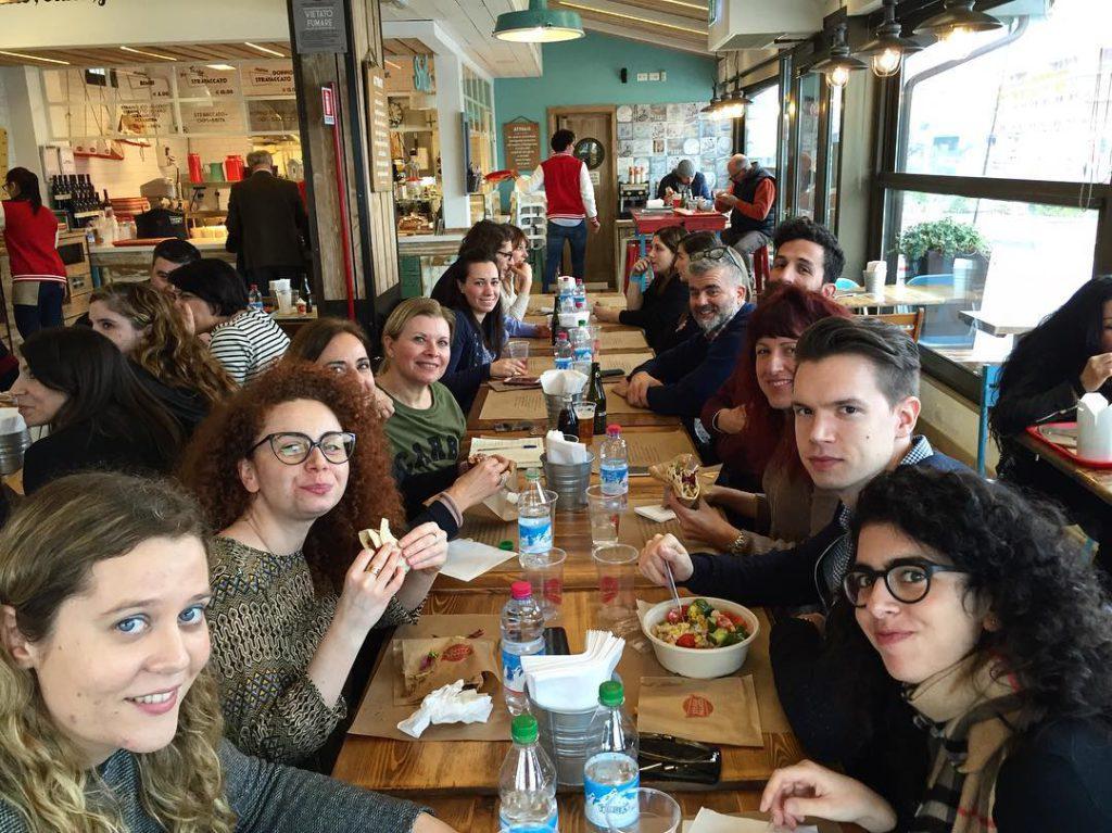@igersrimini: Igers in pausa-pranzo