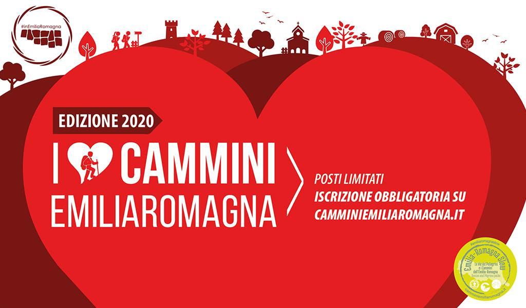 I Love Cammini Emilia Romagna 2020