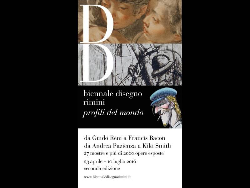 La Biennale del Disegno di Rimini 2016: da Reni a Bacon, da Chini a Sironi,  da Fellini a Pazienza