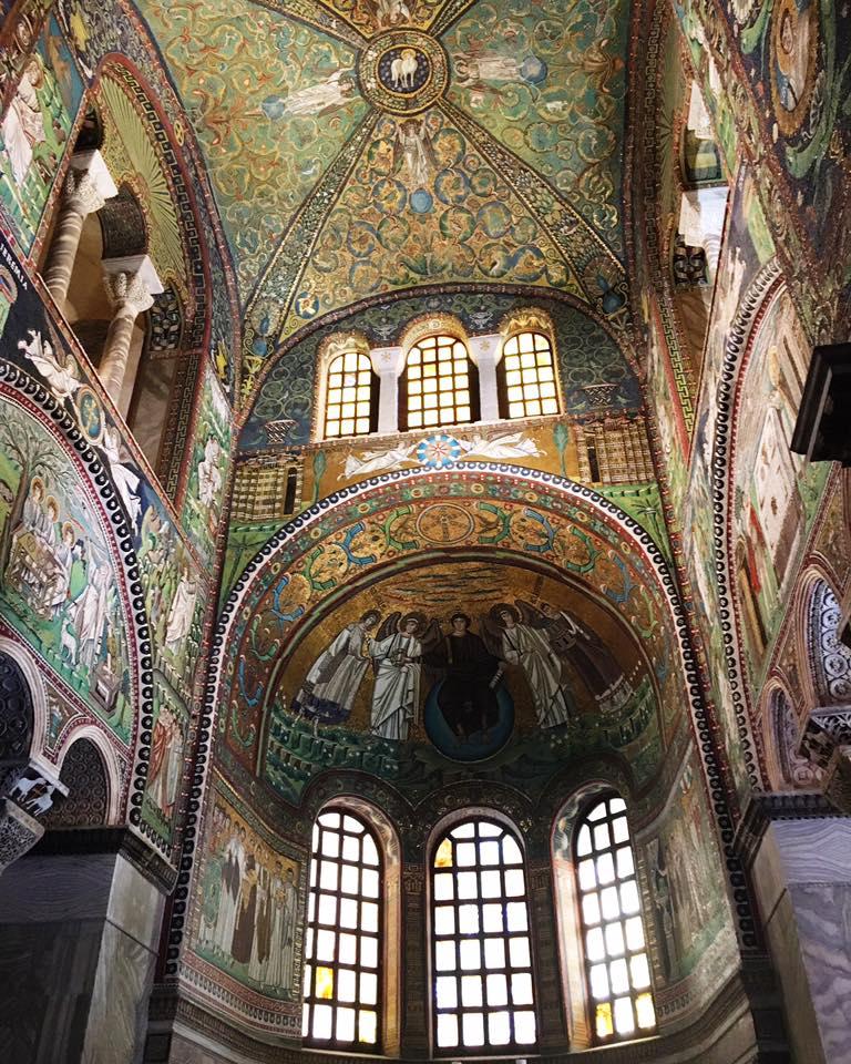 Basilica San Vitale, Ravenna @inworldshoes