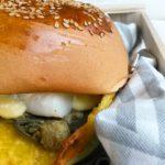 @lamoraromagnola: Burger di pesce