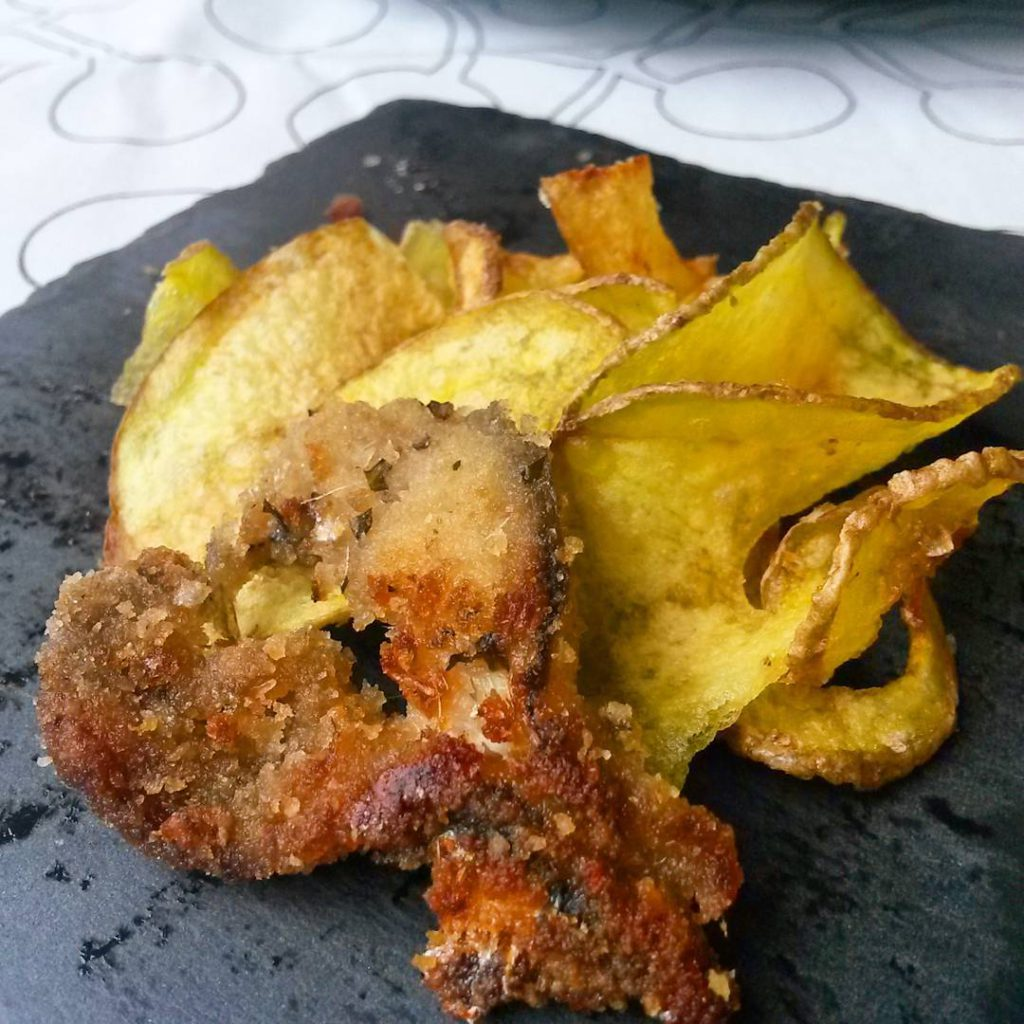 @lamoraromagnola: Fish&Chips Romagna style