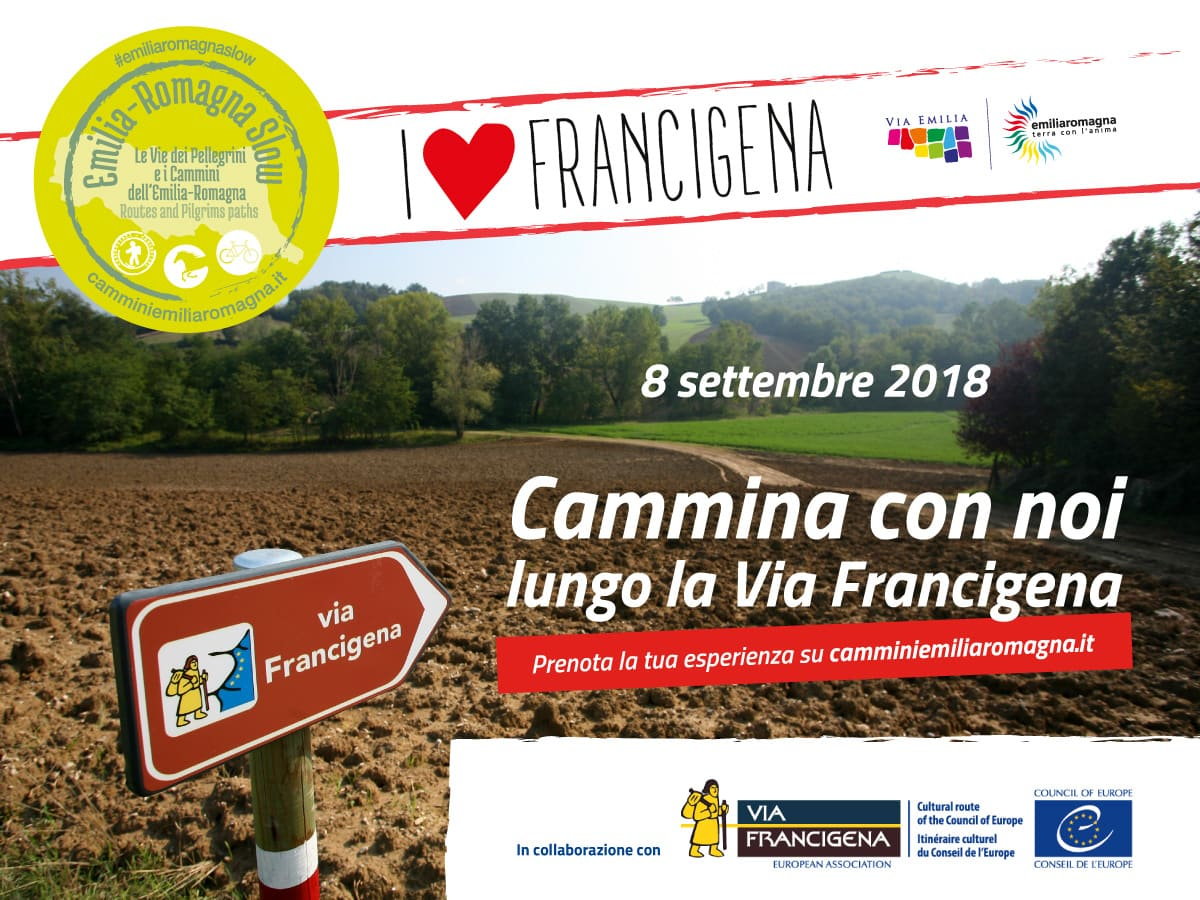 locandina-I-Love-francigena emilia romagna fidenza medesano